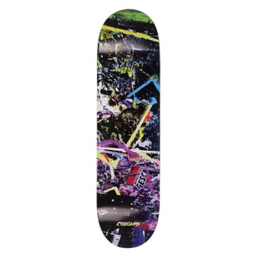 """Colours One Off Stamatis Abstract Skateboard Deck - 8.4"""""""