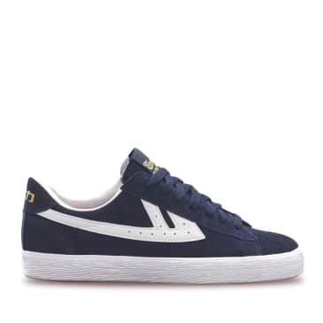 Warrior Dime Suede Shoes - Navy / White