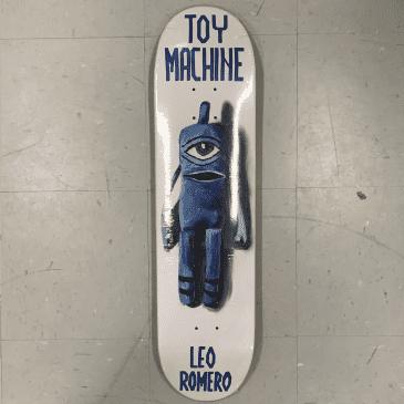 Toy Machine Skateboards Romero Sock Doll Deck 7.88
