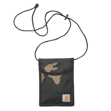 Carhartt WIP Collins Neck Pouch - Camo Laurel