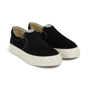 Stepney Workers Club Lister Mens Suede Shoes - Black