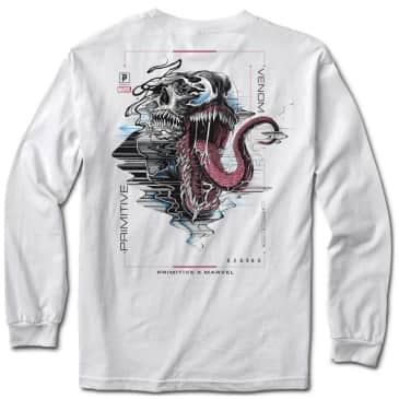 Primitive Venom Long Sleeve T-Shirt - White
