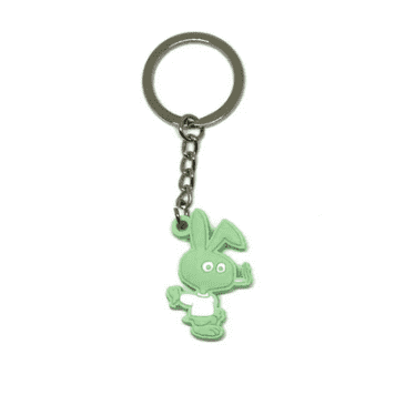 Cold World Frozen Goods - Cold Bunny PVC Keychain