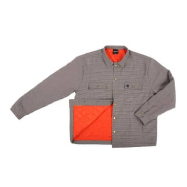 Theories Lantern Shirt Jacket Check
