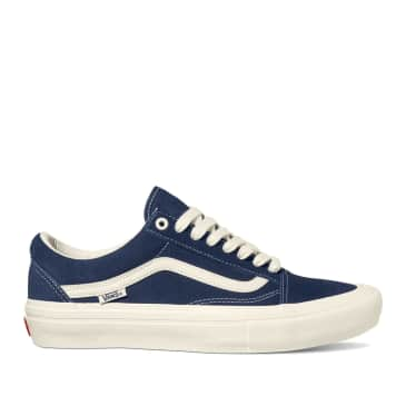 Vans Old Skool Pro Wrapped Skate Shoes - Navy / Marshmallow