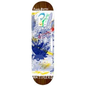 """Antihero Skateboards - Raney Beres SF Then And Now Board 8.12"""" wide"""