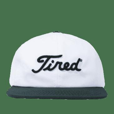 Tired Golf Logo Cap - White / Green