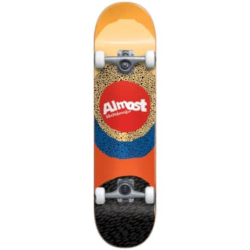 "Almost Skateboards - 7.5"" Radiate Complete Skateboard (Yellow)"