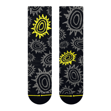 MERGE4 - New Deal Sun Pattern Socks