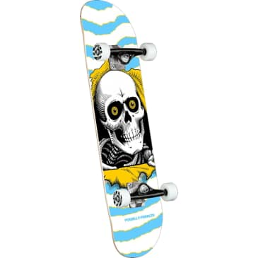 """Powell Peralta Complete Ripper One Off Shape 255 Light Blue 7.5"""""""