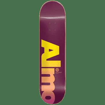 Almost Skateboards Fall Off Logo Skateboard Deck - 8.00