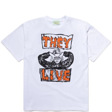 Aries They Live T-Shirt - White
