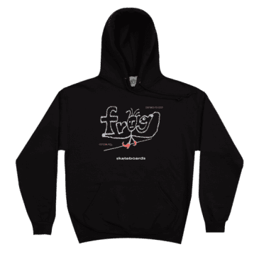 Frog Skateboards Evil Anxiety Hoodie - Black