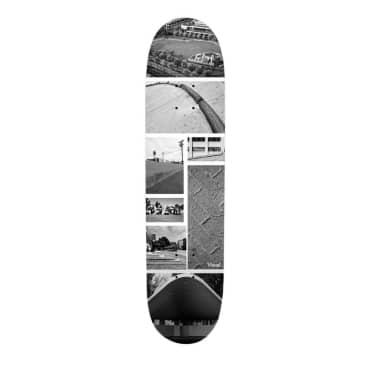 "Visual Skate Spot Collage 8.5"" Deck"