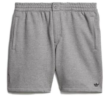 adidas Skateboarding Heavyweight Shmoofoil Shorts - Core Heather / Black