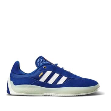 adidas Skateboarding Lucas Puig Shoes - Mystery Ink / Cloud White / Green Mist