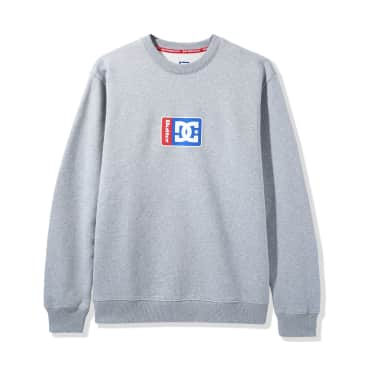 DC Shoes x Butter Goods Block Crewneck - Grey