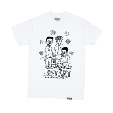 Lost Art - Lost Art -Soul Skating Tee S/S White