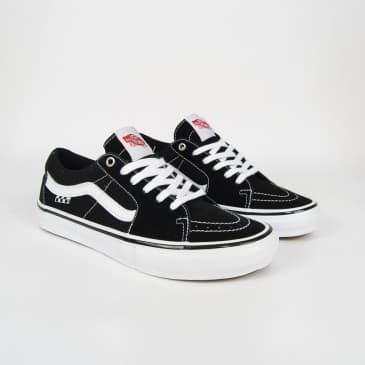 Vans - Skate Sk8-Low Shoes - Black / White