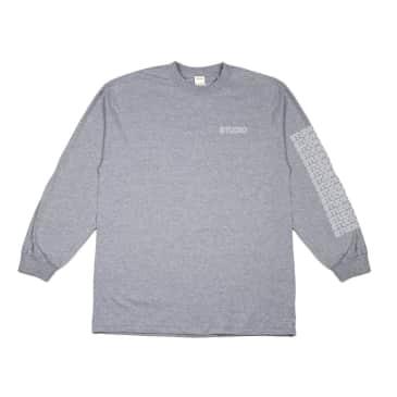 Studio Sport Block L/S T-Shirt - Heather Grey