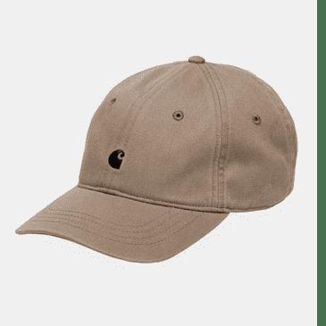 Carhartt WIP Madison Logo Cap - Leather / Black
