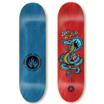 Black Label Skateboards Jake Reuter Snake and Rat Skateboard Deck - 8.75