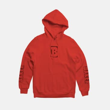 Baker Skateboards Capitol B Hood - Red