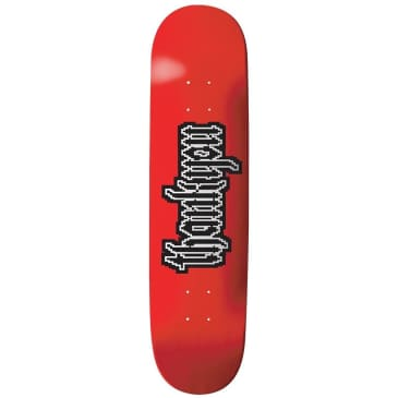 "Thank You Gothic Sprite Skateboard Deck - 7.5"""