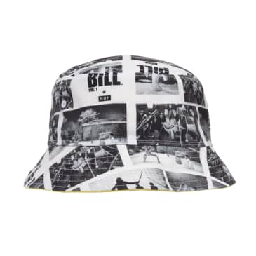 HUF x Kill Bill Reversible Bucket Hat - Yellow/Black/White