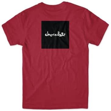 Chocolate Skateboards Square T-Shirt - Cardinal