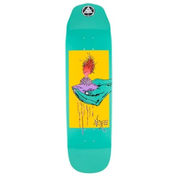 """Welcome Skateboards - Nora Vasconcellos Soil On Wicked Princess Deck 8.6"""" Wide"""