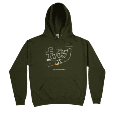 Frog Skateboards Evil Anxiety Hoodie - Army Green