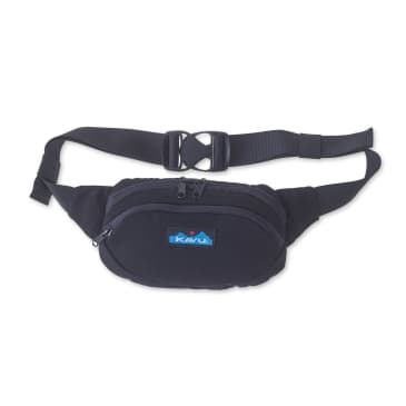 Kavu Canvas Spectator Belt Bag - Black