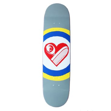 Free Dome Skate Heart deck - 8.25""