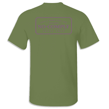 No-Comply Locally Grown Shirt - Olive Ultra Violet