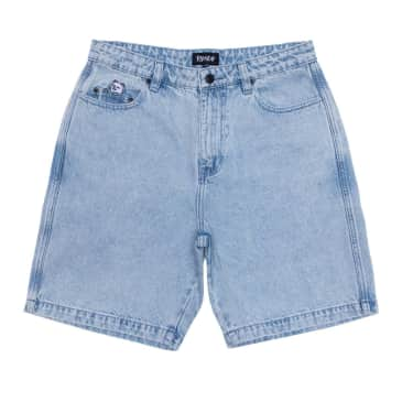 Ripndip La Brea Denim Shorts - Light Blue