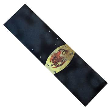Powell Peralta Griptape Oval Dragon Distressed