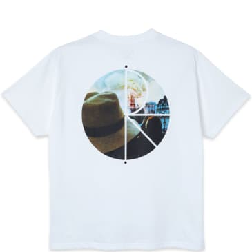 Polar Skate Co. Notre Dame Fill Logo T-Shirt - White
