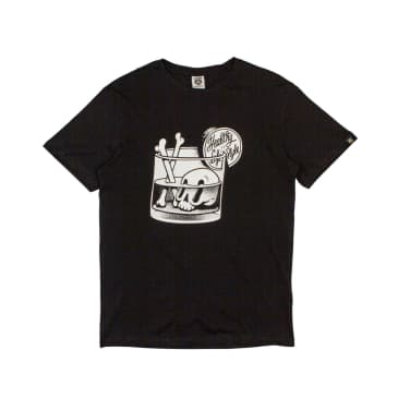 The Dudes Healthy Life Style T-Shirt - Black