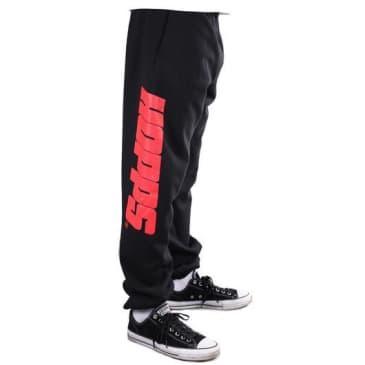 Hopps - Red Logo Sweatpants Black