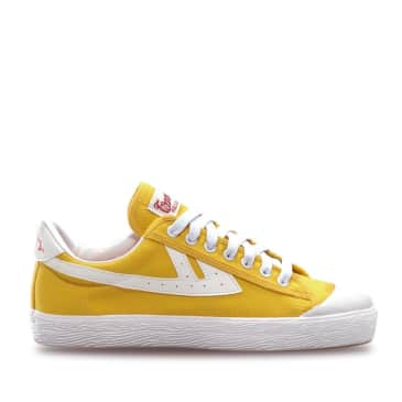 Warrior Classic Low WB-1 Shoes - Yellow / White