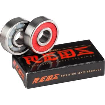 Bones Reds Replacement Skateboard Bearings - Single Wheel - 2 Pack