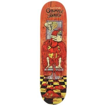 "Anti Hero Skateboards Evan Grimple Snips Skateboard Deck 8.25"""