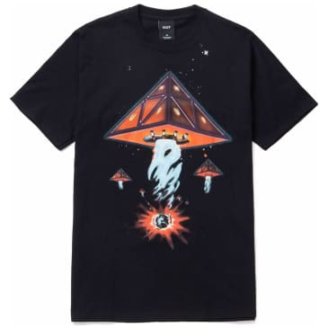 HUF Doomsday Triple Triangle T-Shirt - Black