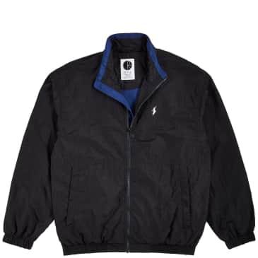 Polar Skate Co Track Jacket - Black / Blue