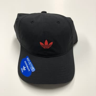 ADIDAS HAT ORIGINALS RELAXED MODERN II BLACK/REAL CORAL