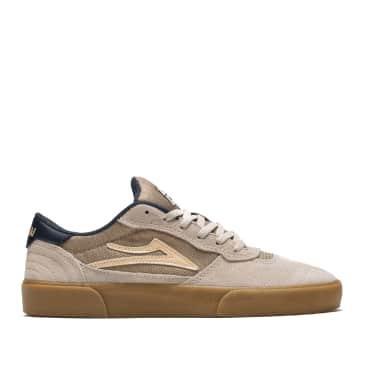 Lakai Cambridge Suede Skate Shoes - Cream