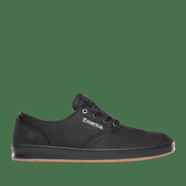 Emerica Romero Laced Skate Shoes - Black Raw