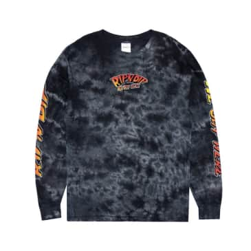 Ripndip - Out of this World Long Sleeve (Black Mineral Wash)