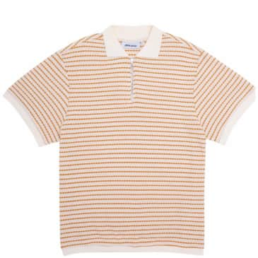 Fucking Awesome School Day 1/4 Zip Shirt - Gold / White